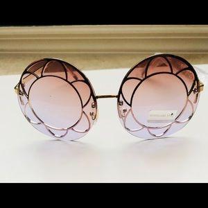 Stylish Metal Round Sunglasses.